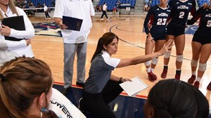 2018 FAU Volleyball vs St. Peter's